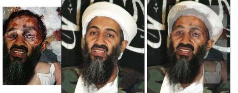 Bilden på död Usama Bin Ladin är fejk
