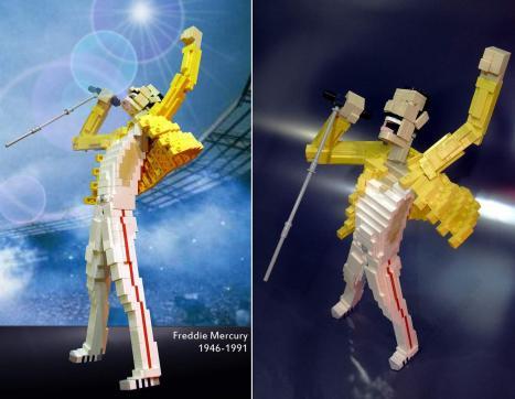 Freddie Mercury i LEGO