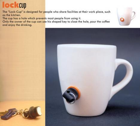Se till att ingen använder din kaffekopp