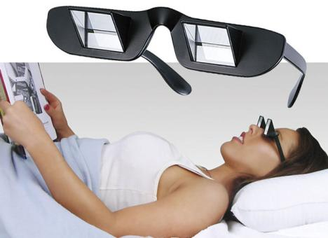Läsglasögon för latmaskar