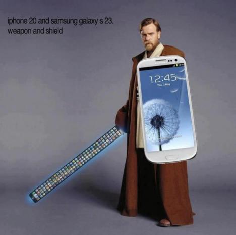 iPhone 20 och Samsung Galaxy S23