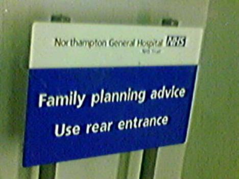 Familjeplanering - gå in bakvägen