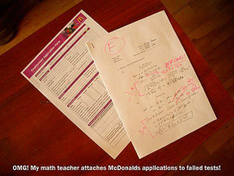 Lärare med elak humor