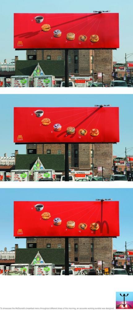 Smart reklamkampanj från McDonalds