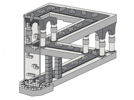 Tetris enligt Escher