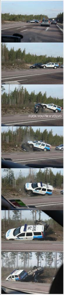 Vad sysslar polisen med här?!