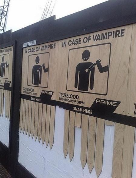 I händelse av vampyrer