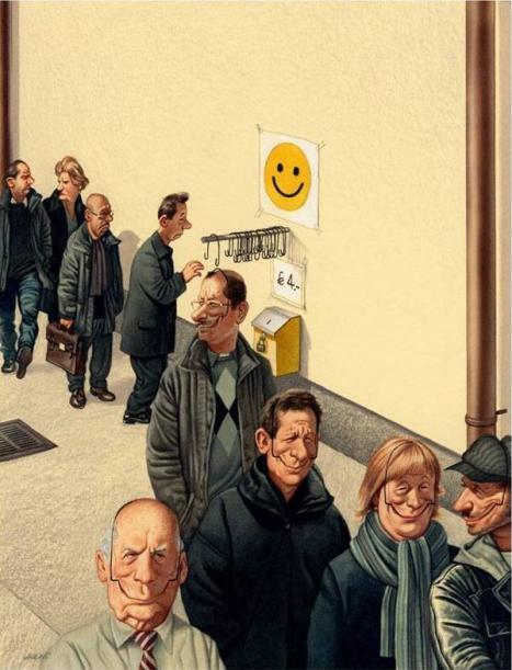 Så får man alla människor att le