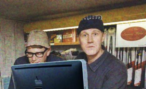 Roy och Roger har en Mac ihop
